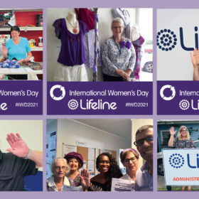 Lifeline Chooses to Challenge for International Women's Day 2021